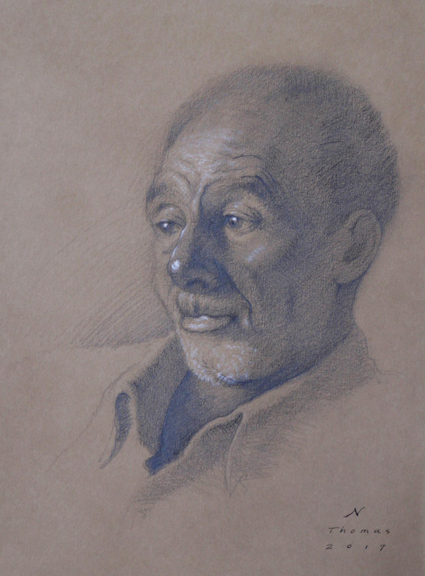 Portrait Drawing - Thursdays • Sep. 26-Nov. 21 • 6:30-8:30pm