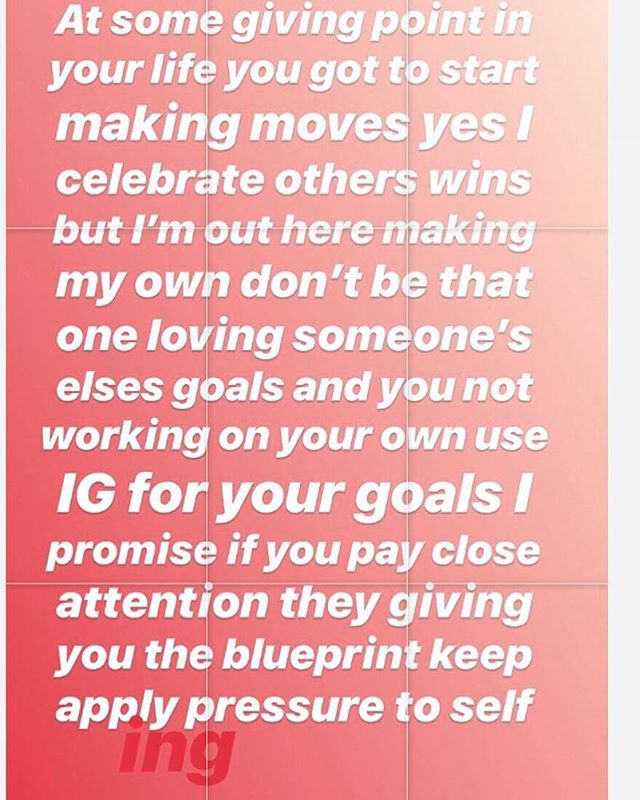 I literally be on IG learning and applying what I learned to my goals I follow a lot of successful Queens and Kings but I study them and watch how they move only to apply it to what works for me at this giving season in my life so use this IG as a learning tool and apply the pressure to self remember you owe you celebrating others is great but it feels even better when can celebrate yourself right along with them #striveforgreatness#celebrateyourself #goals#tools#growthmindset#learn #theblueprint#readingbooks #workhardforyou#invest#forthatgrowth and apply pressure to self