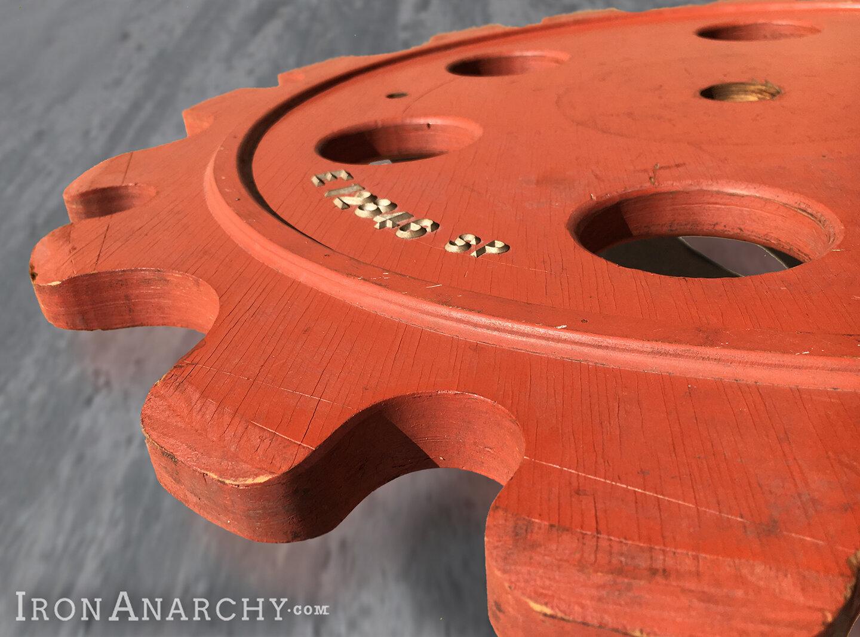 Vintage Foundry Gear Mold Pattern
