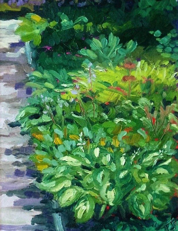 A Study in Green (Hostas)