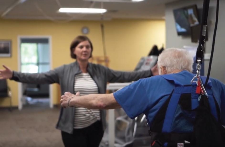The LSVT BIG® program is designed for patients with Parkinson's Disease. In working with a certified LSVT BIG therapist, patients are instructed in a standardized treatment protocol comprised of a series of whole body exercises, gait training, and functional training.