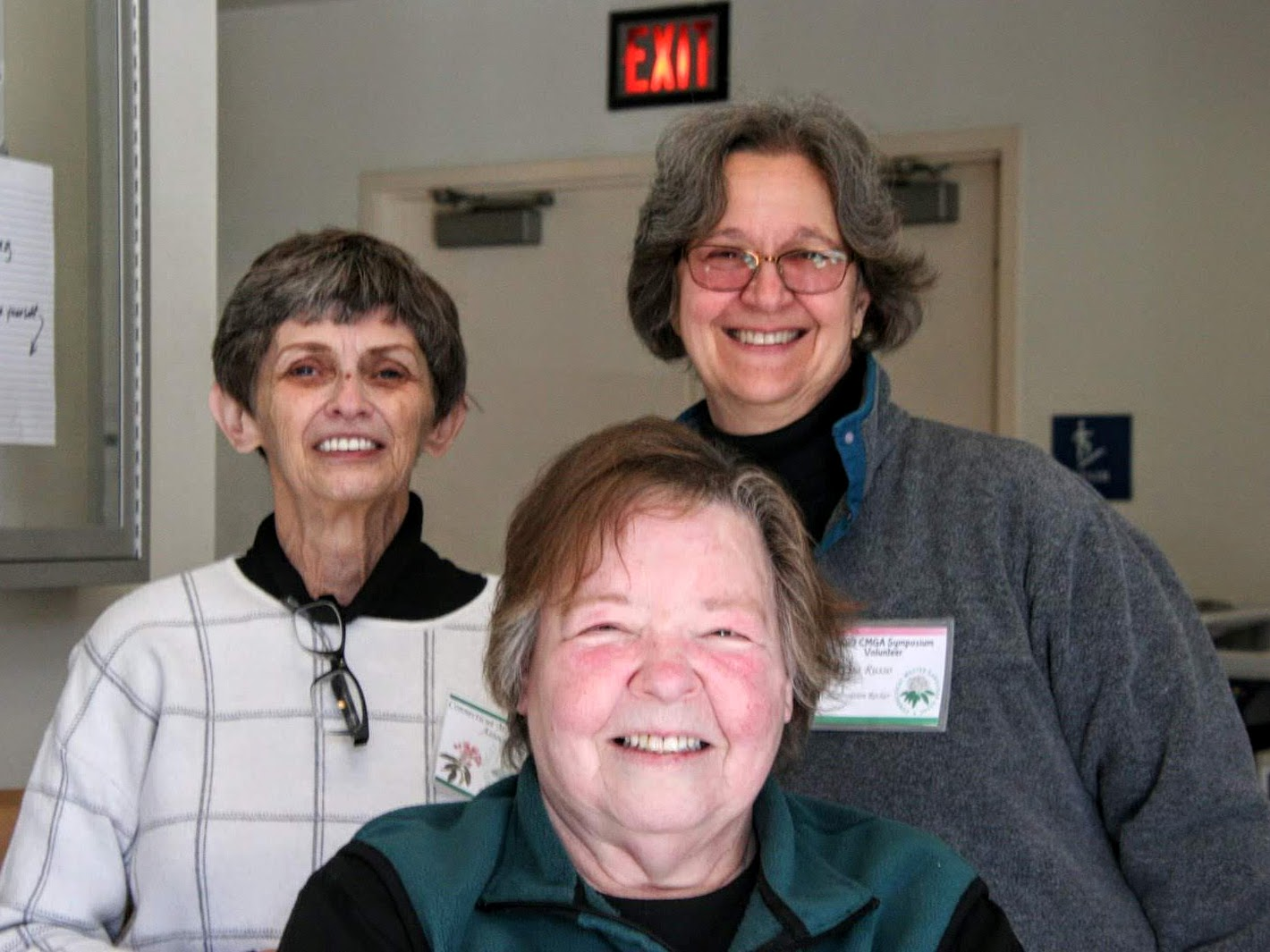 Pat Taylor (treasurer), Kathy Culhane (secretary), Paula Russo (registration chair)