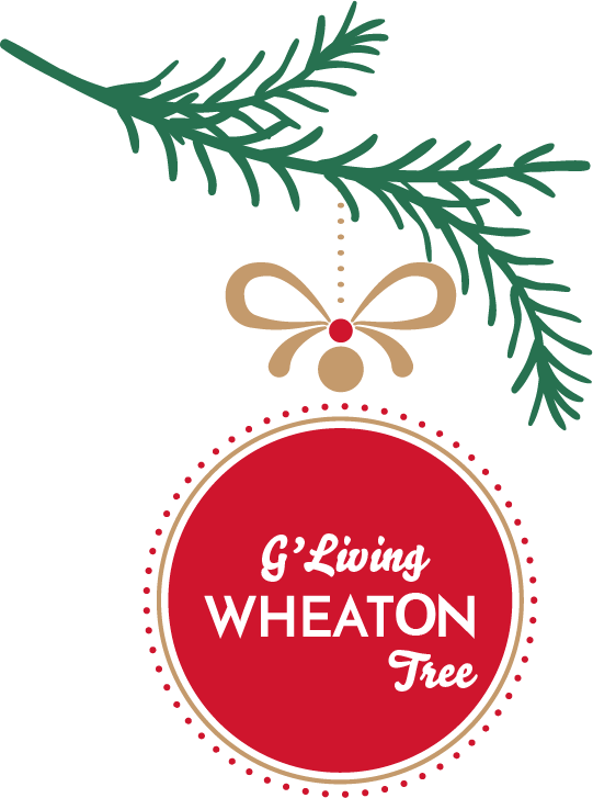 G'Living Wheaton Tree - Get your raffle tickets today! $5 for 1 or $20 for 5.
