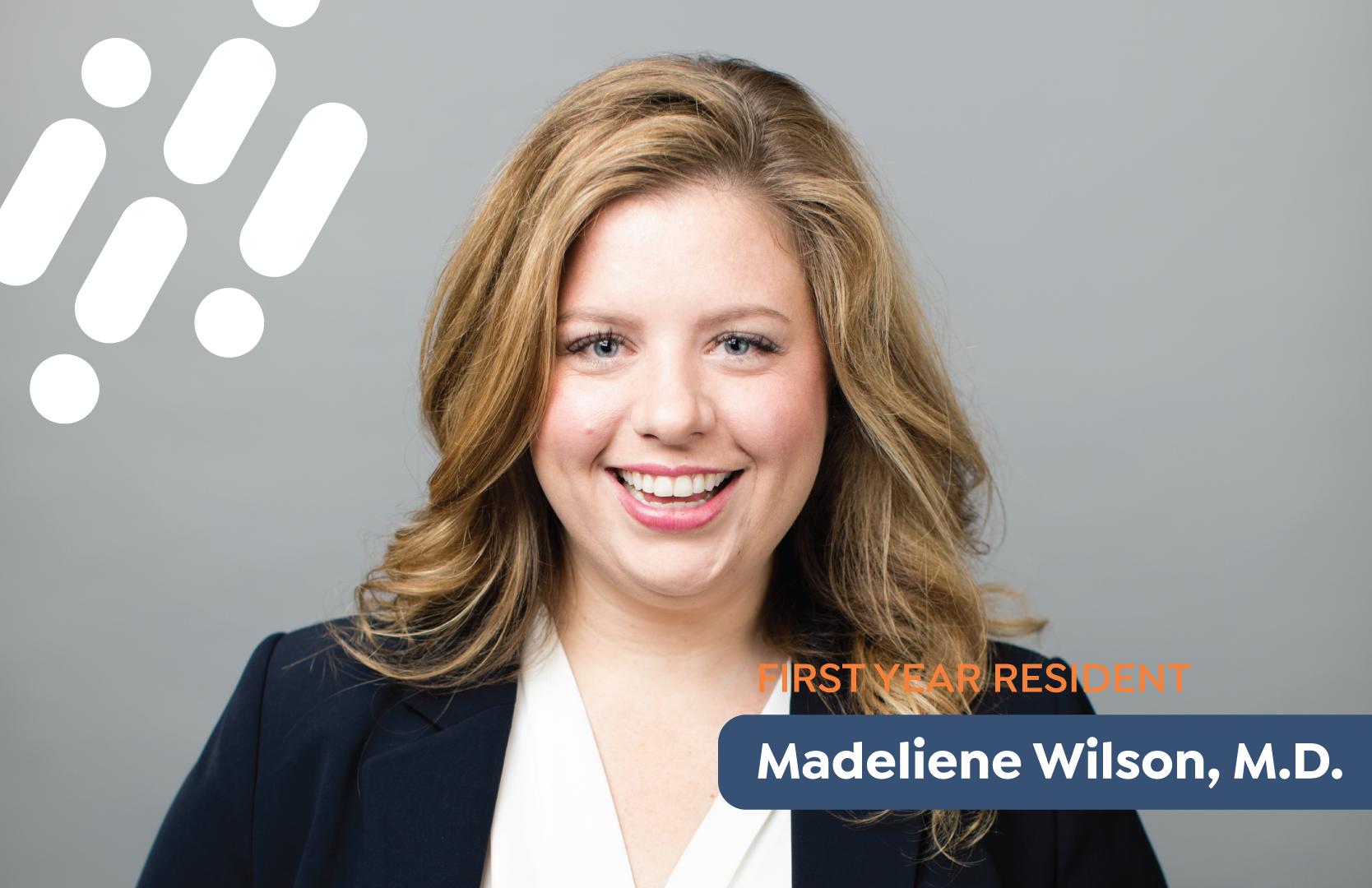 Dr. Madeliene Wilson