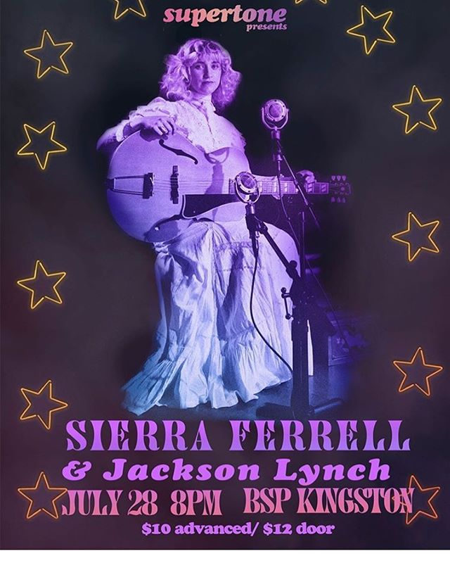 Tonight !!! Doors at 7 Jackson 8 Sierra 9 @bspkingston @sierraelizabethferrell