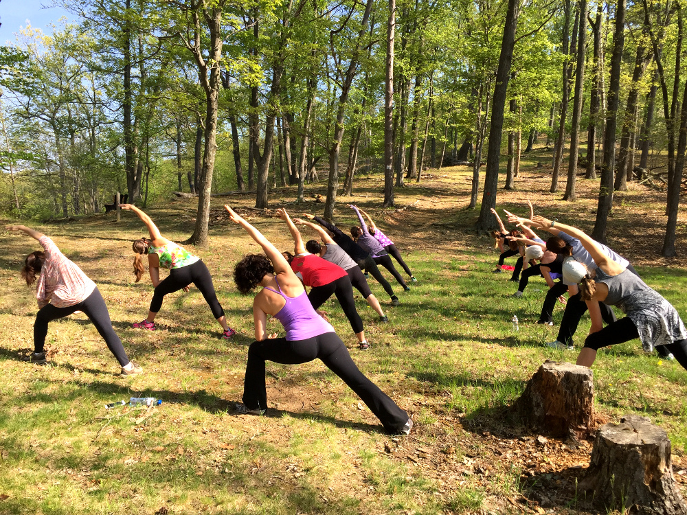 Schiff Nature Preserve Hiking & Yoga