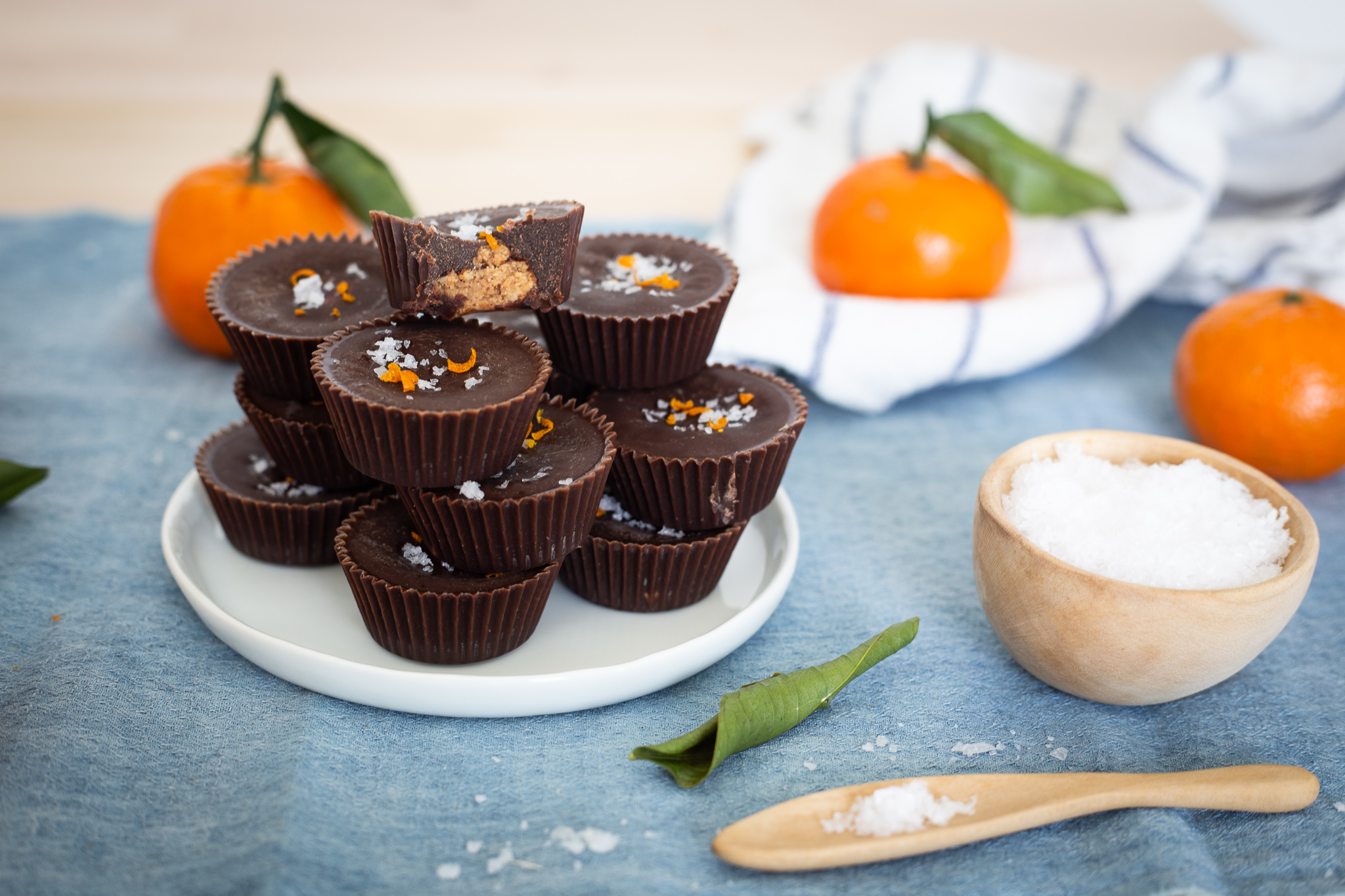 Vegan Paleo Orange Chocolate Nut Butter Cups