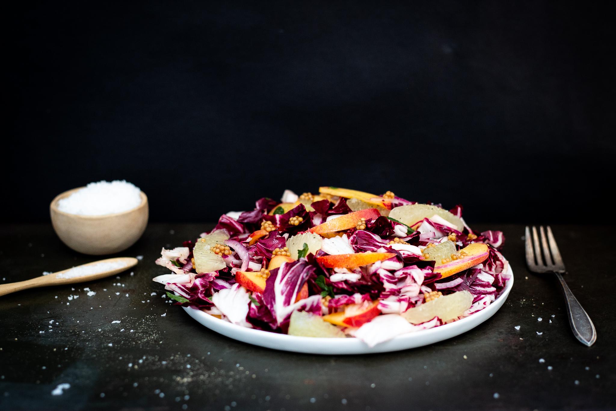 Winnow_Radicchio and Stone Fruit Salad