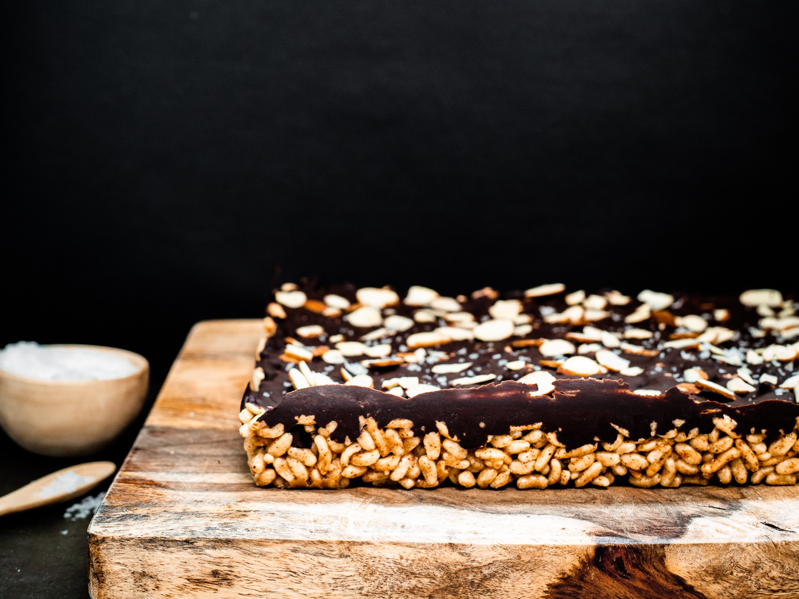Winnow_ Browned Butter Chocolate Almond Rice Crispy Treats