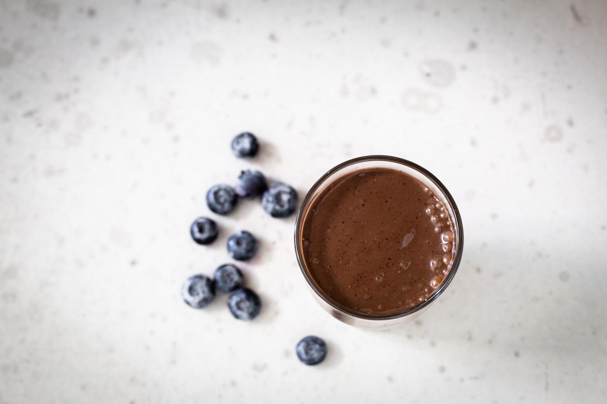 Winnow_ Chocolate Blueberry Smoothie
