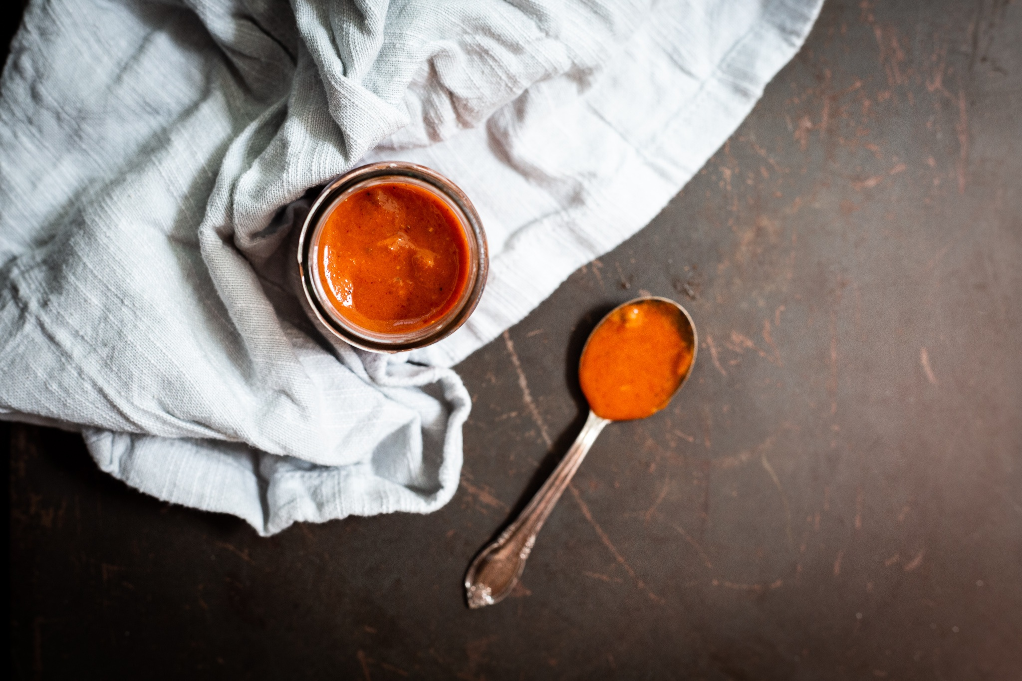Spicy Red Curry Tahini Sauce