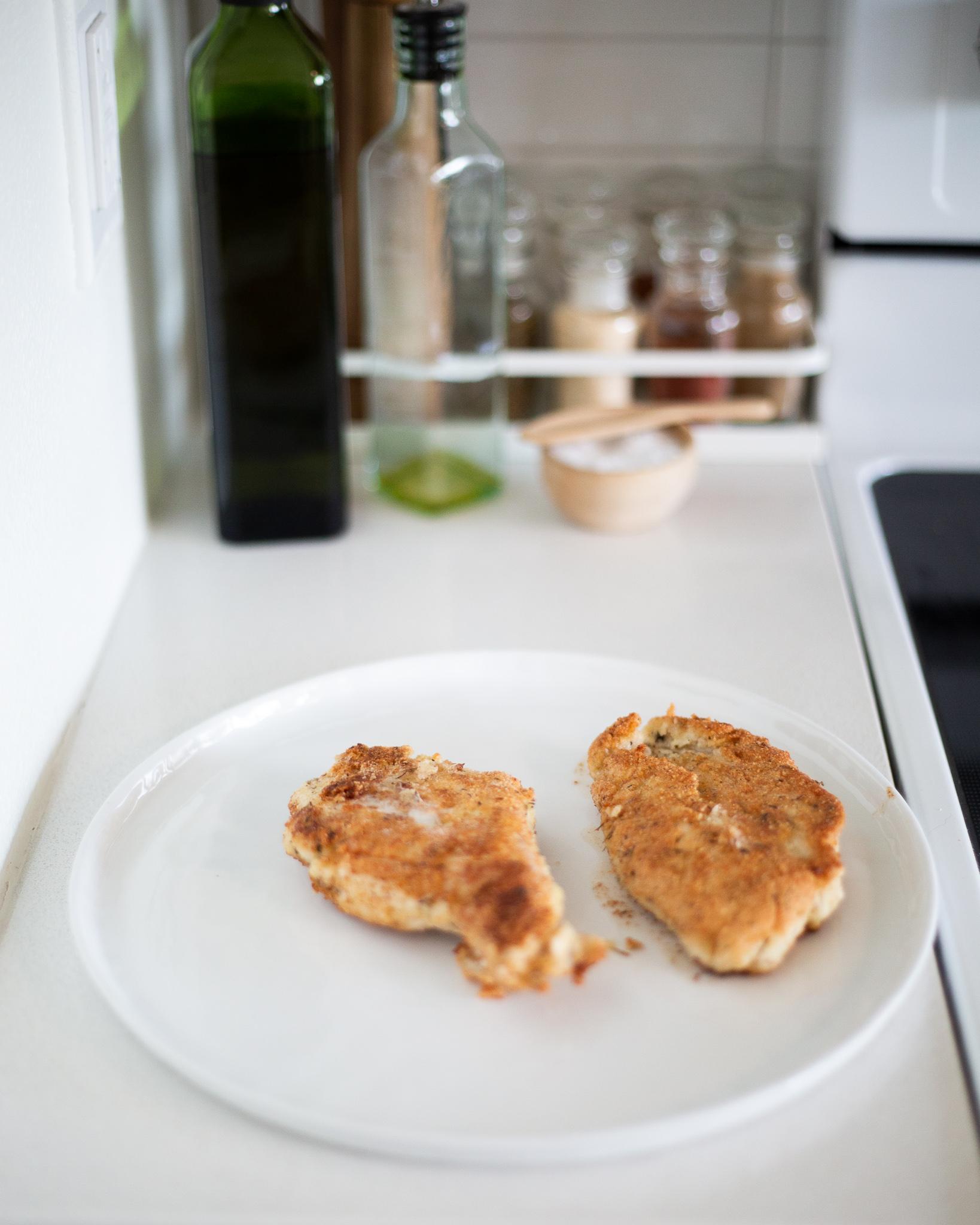 Gluten Free Lemon Almond Chicken
