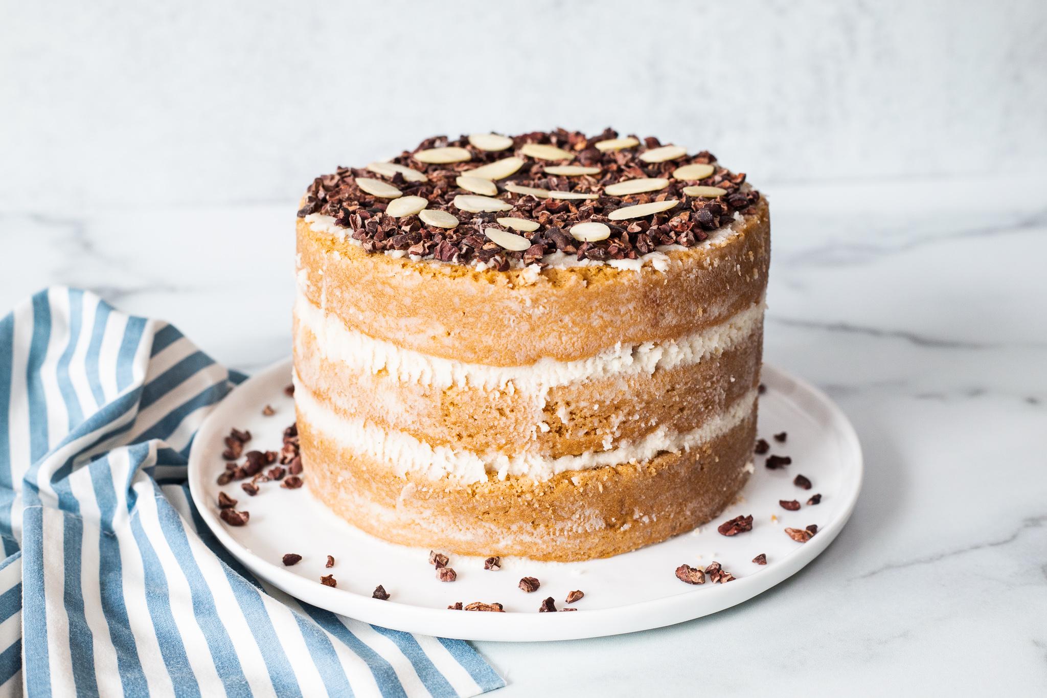 Paleo Chocolate Almond Cake; refined sugar free, gluten free, dairy free