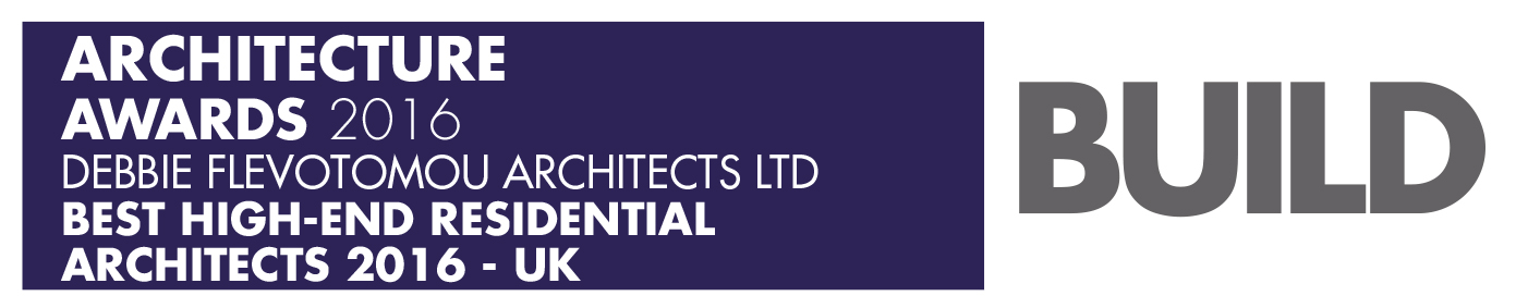 Build Architecture awards 2016 winners logo Debbie Flevotomou Architects Ltd 1 Best High-End Residential Architects 2016 - UK .jpg
