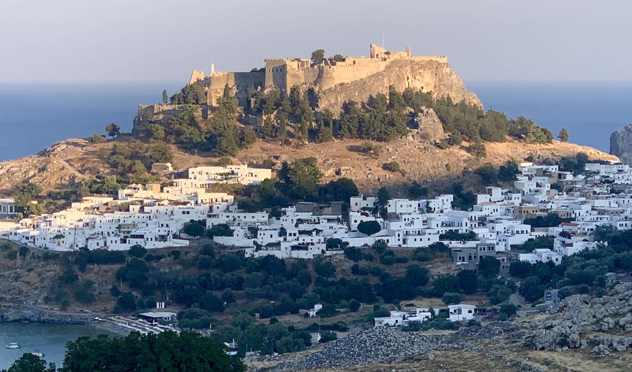 Lindos, Rhodes, 20th July 2019