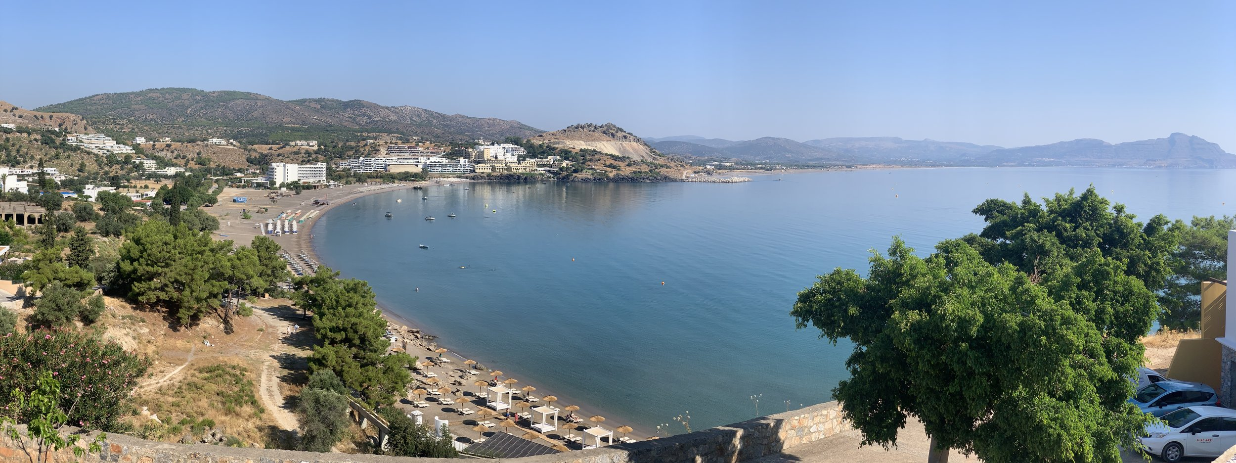 Vlicha Bay, near Lindos, 15th July 2019