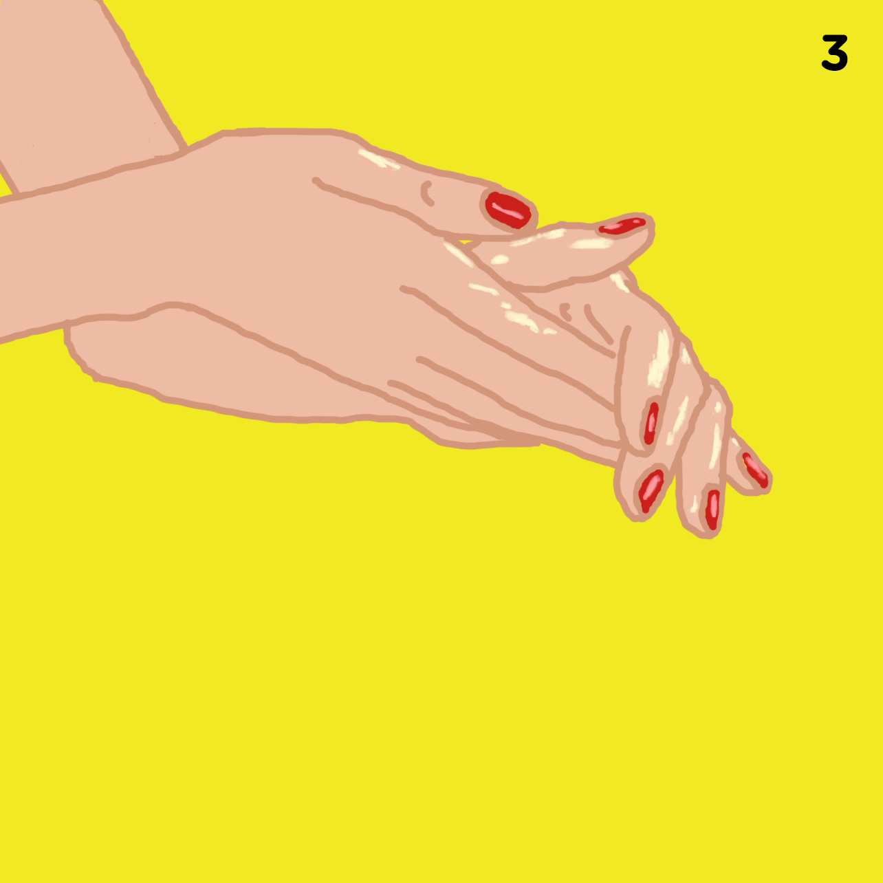 3. OIL YOUR HANDS   Rub your oil of choice in your hands until warm.