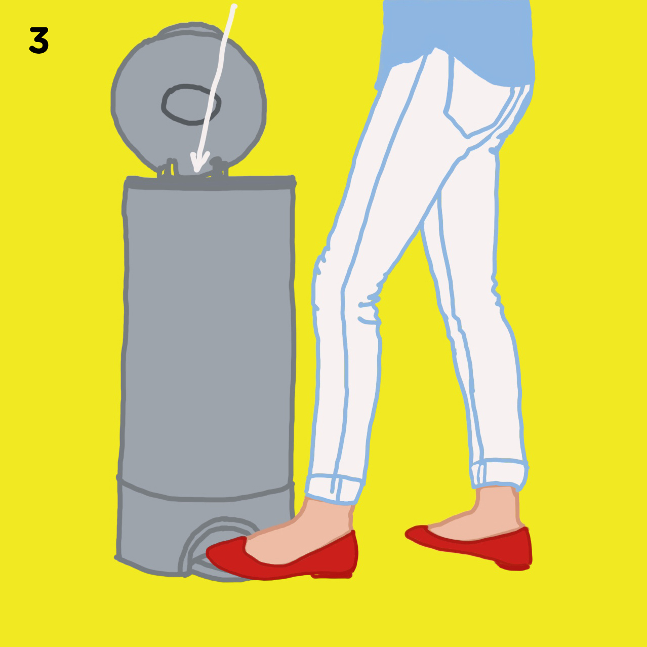 3. SPIT IT OUT   Spit the oil into a trash rather than the sink or toilet when you're done as oils can build up and clog your pipes. At the end of your swishing, the viscous oil should have become milky white and thinner.