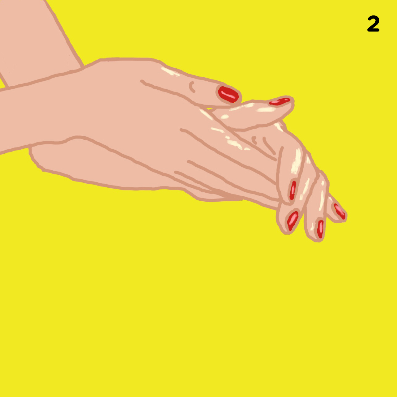 2. OIL YOUR HANDS   Rub sesame or coconut oil (any massage oil will do) in your hands until warm.