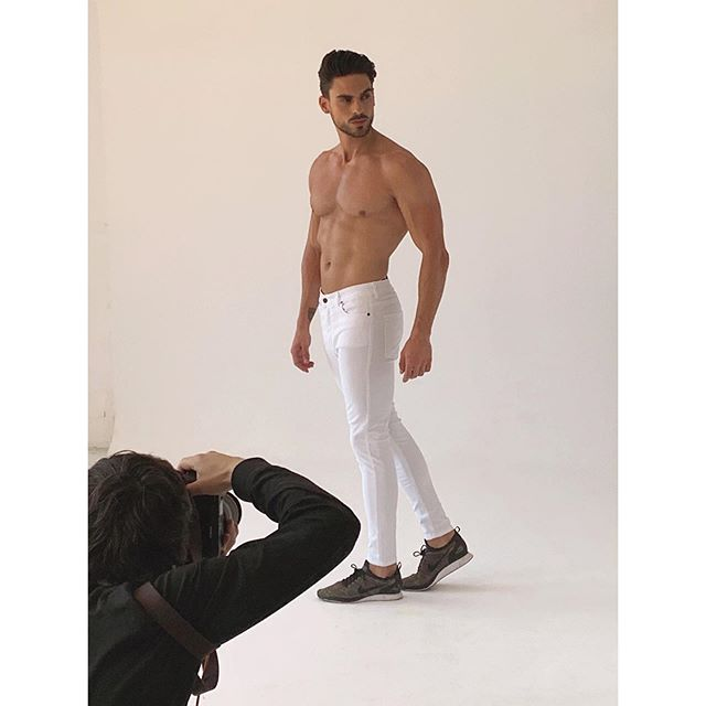 Men's grooming on @joseluisanguloperez for @eliuclothing with @elihupelewy and photographer @angeldelaiglesia @studio101bcn  #igetpaidforthis #mensgrooming