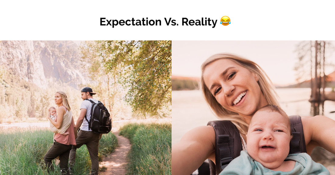 expectation vs reality with traveling