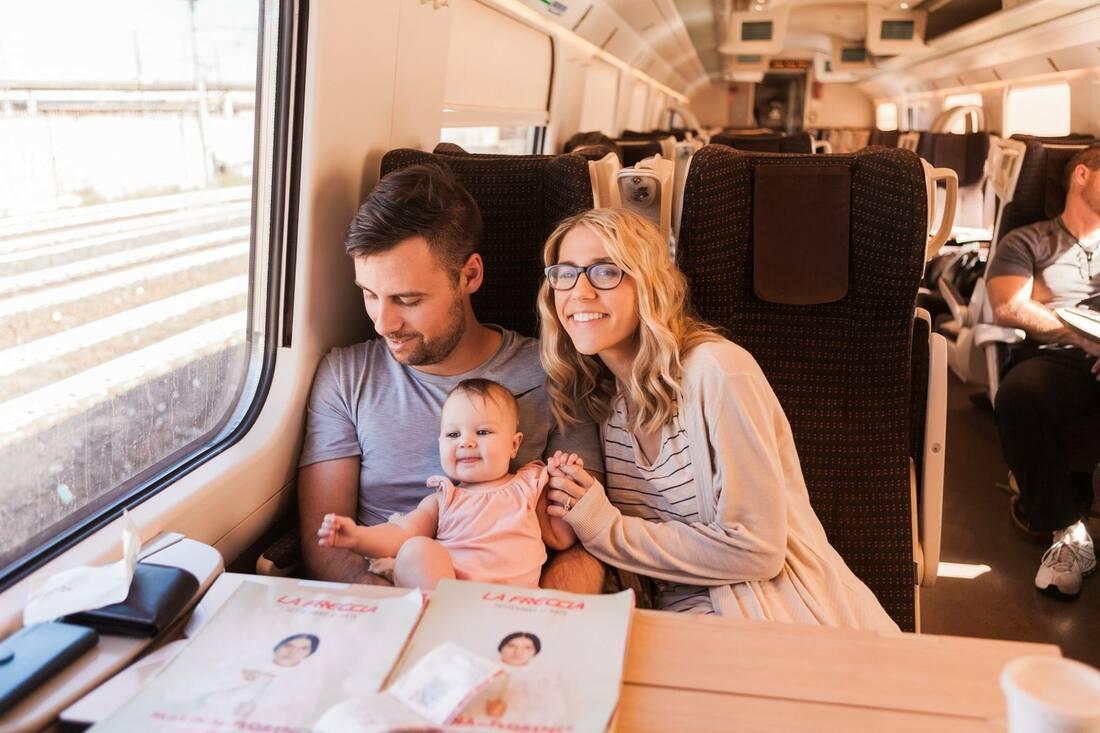 train ride to venice