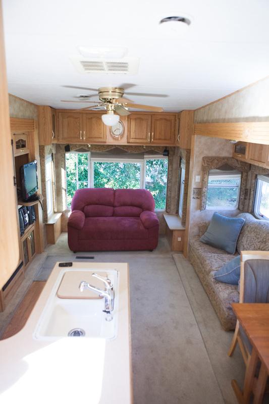before main living camper