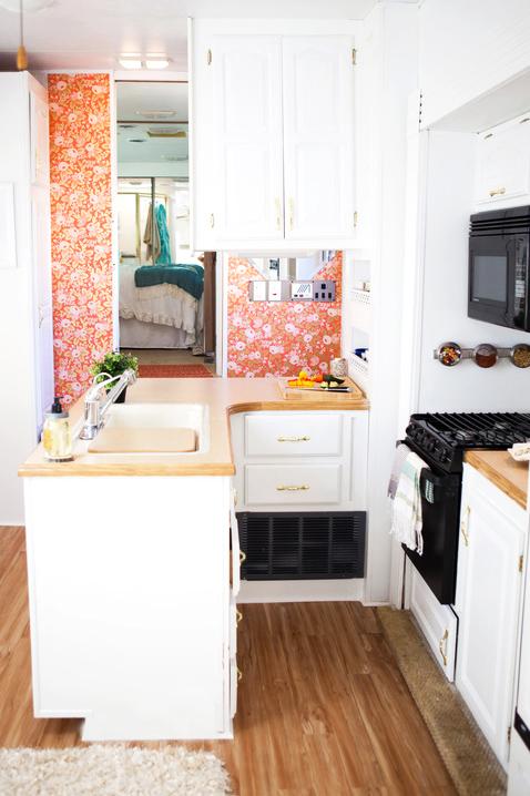 camper kitchen re-do