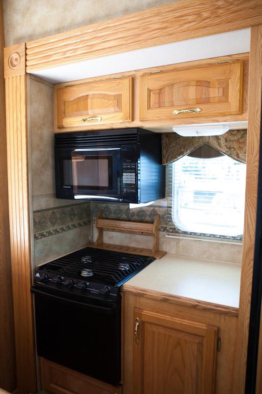 kitchen camper before