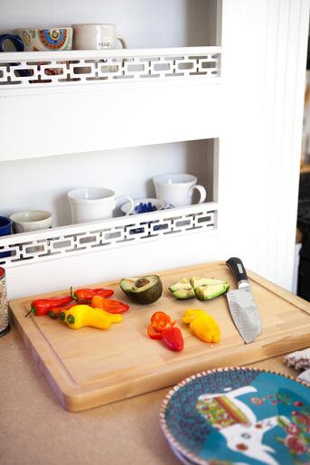 camper kitchen mug rack