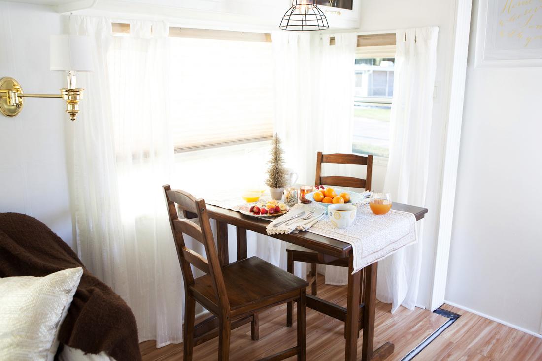 dining room camper reno