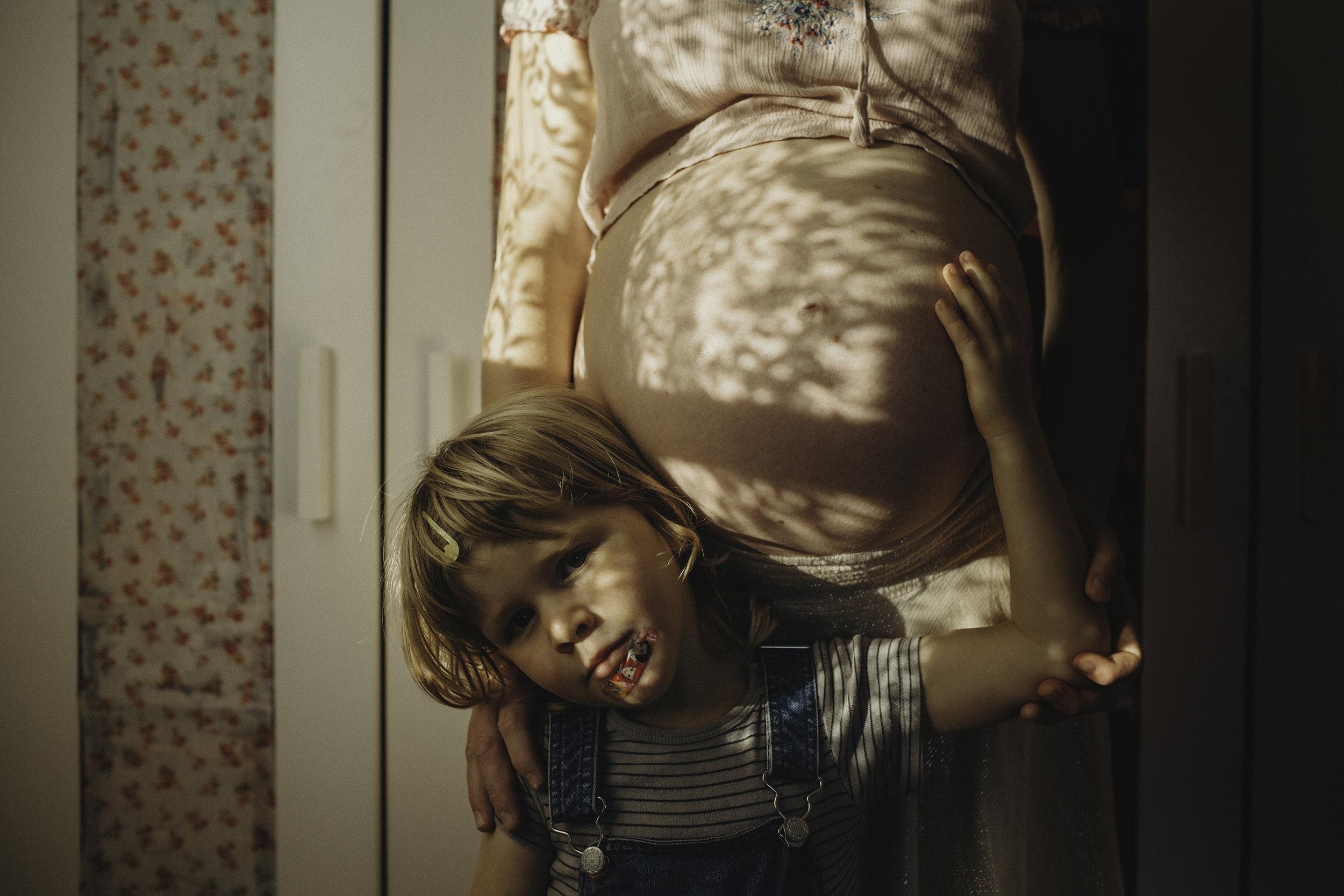 Miriam Ackroyd / Pregnancy and motherhood