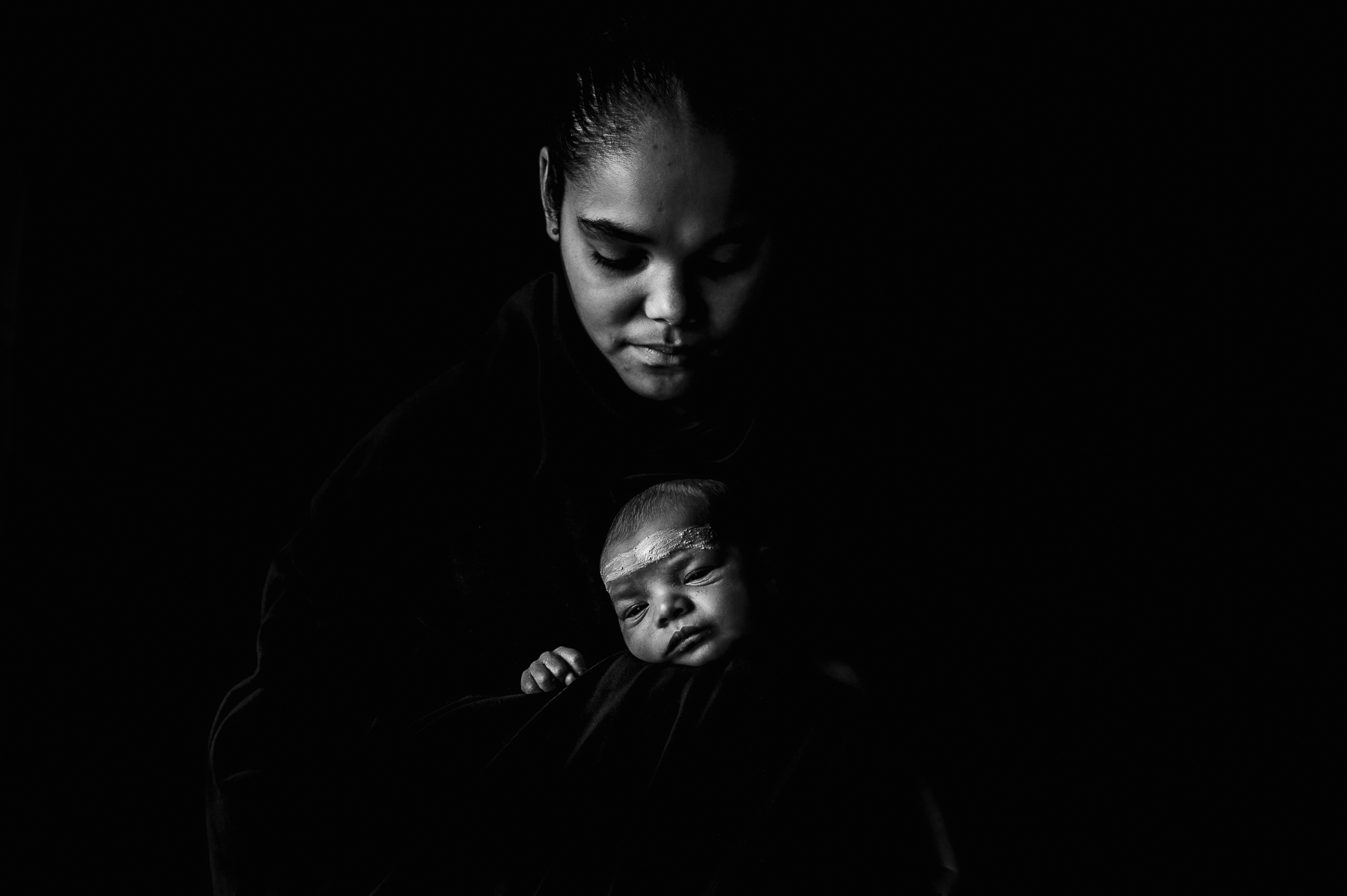 111. Young Mother NAIDOC by Sarah McFarlane