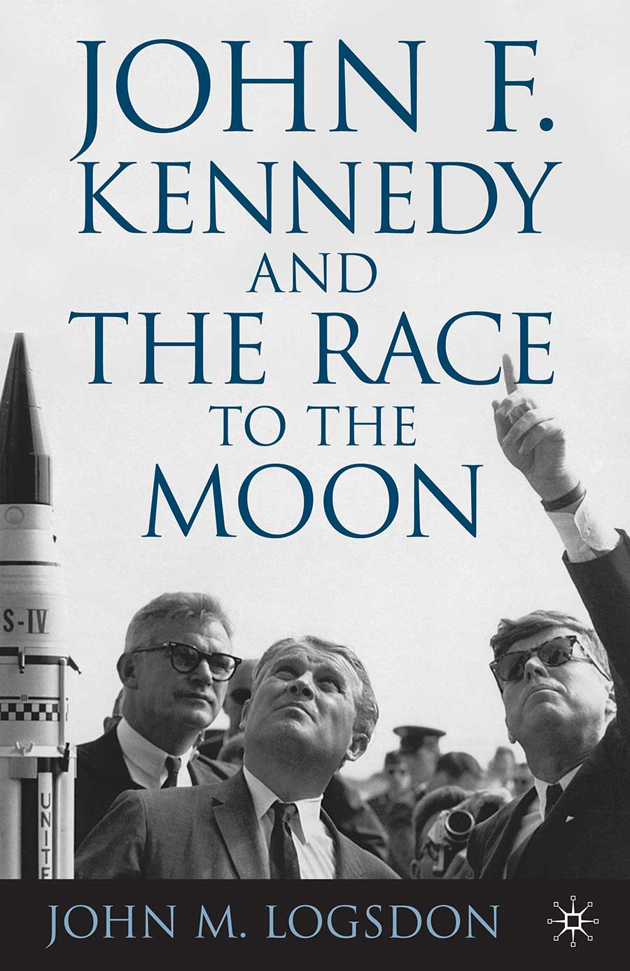 """John F. Kennedy and the Race to the Moon (2010) - """"A comprehensive and insightful retrospect of the conception and early days of Project Apollo.""""– Neil Armstrong, Apollo 11""""Logsdon's book is a high quality scholarly work, deeply researched but still an easy read.""""– Bill Anders, Apollo 8""""An extraordinary book . . . How President Kennedy reached his fateful decision to enter the space race to reach the Moon is now told fully in an insightful and authoritative way.""""– Von Hardesty, Smithsonian National Air and Space Museum"""