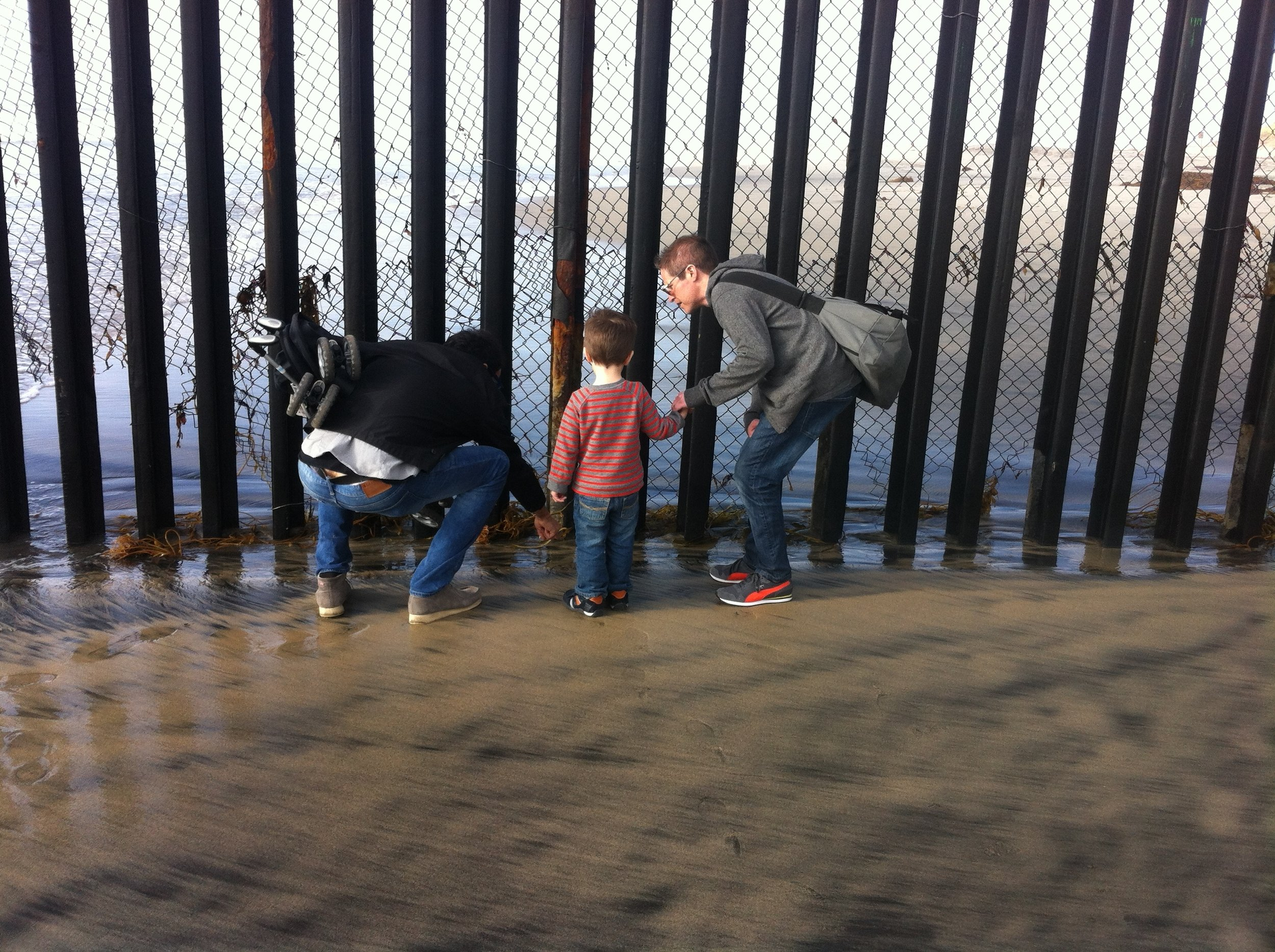 At the Border Fence.