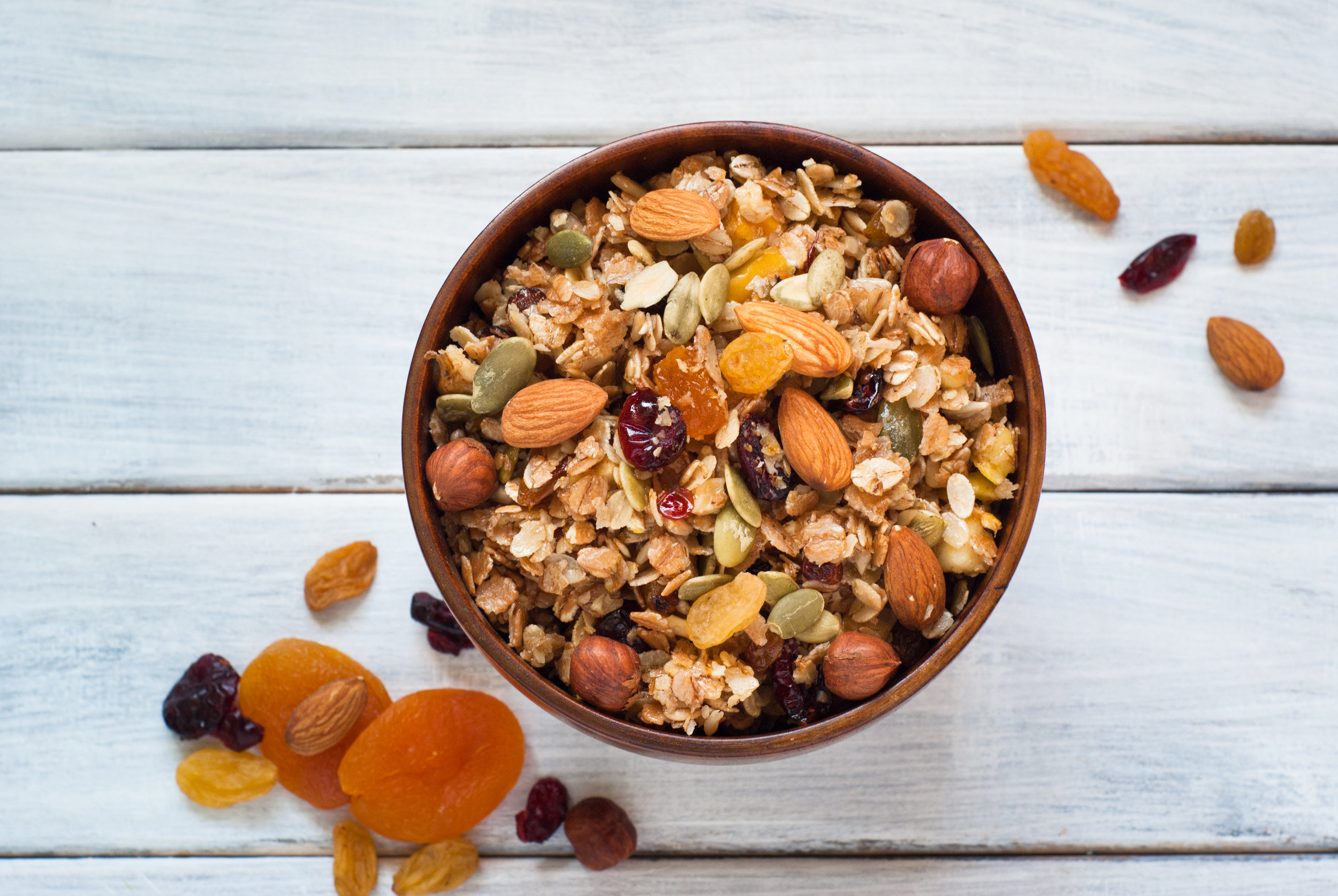 Dried Nuts & Fruits