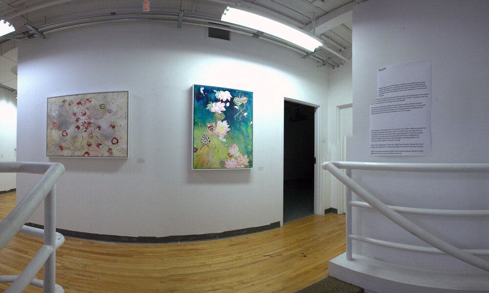 Installation at OCAD Graduate Gallery