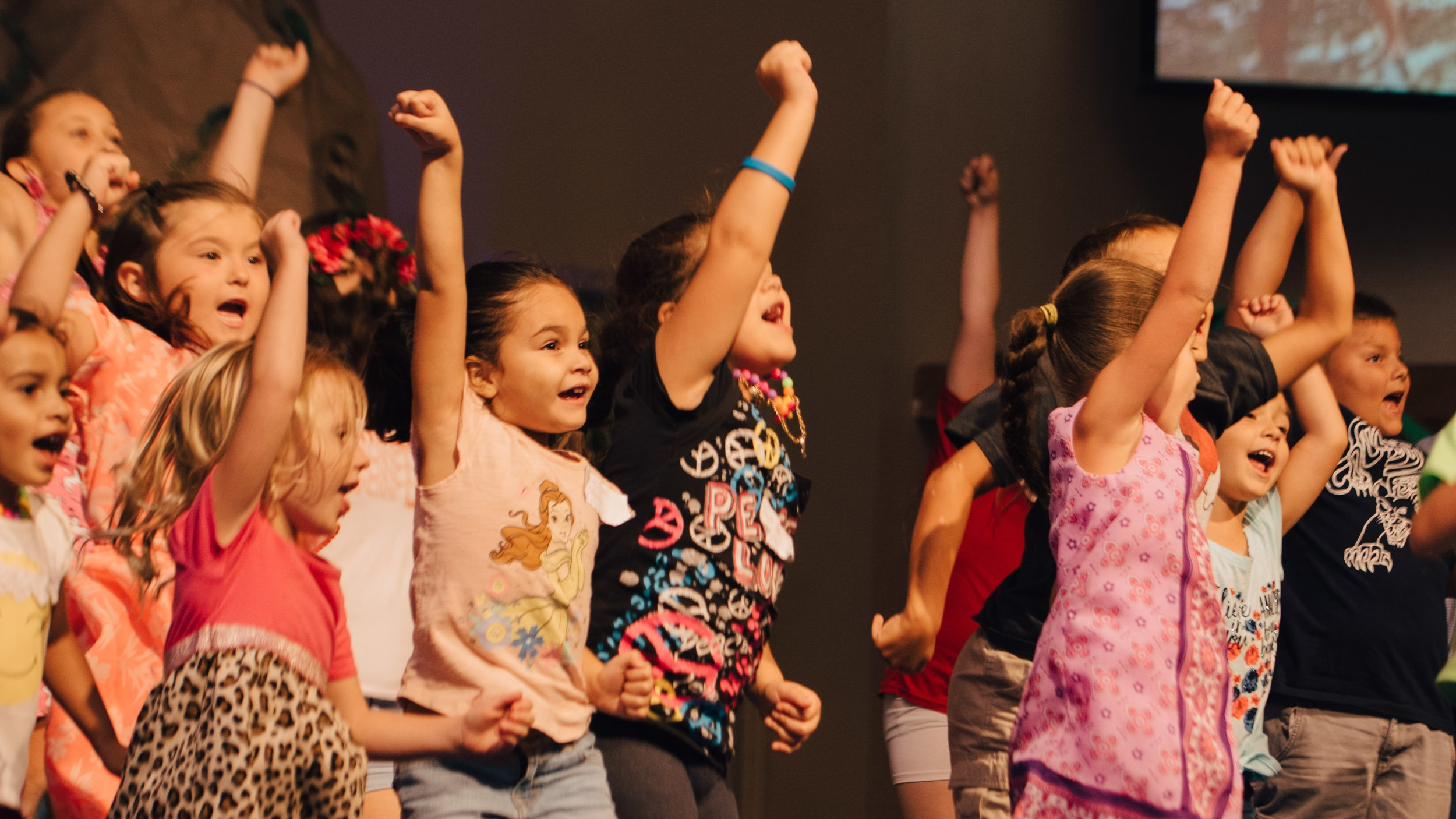 Children's Programs - What About My Kid?During every Sunday service, we have programs specifically designed for your child's safety, fun, and growth.