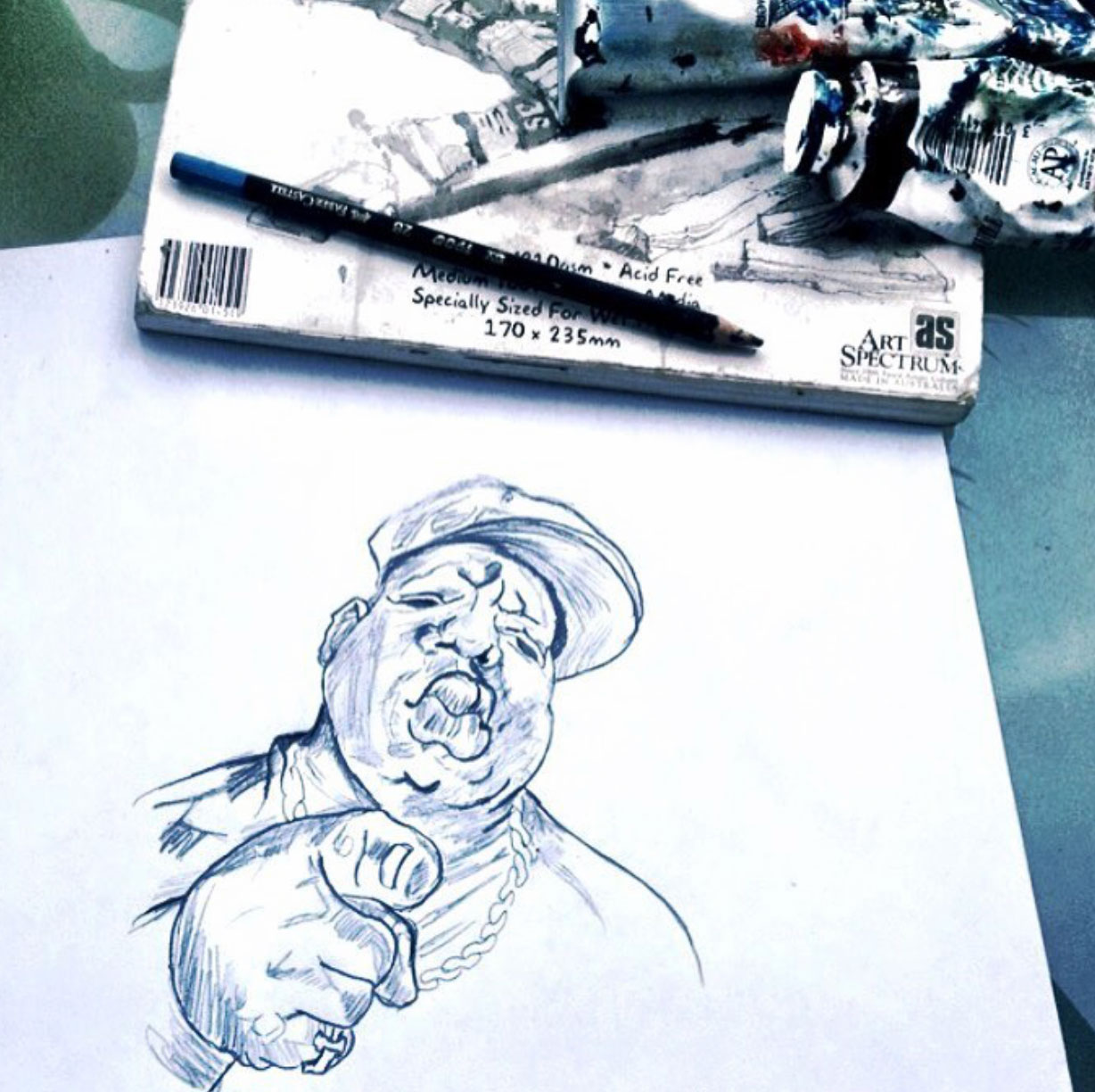 BIGGIE illustrated by me