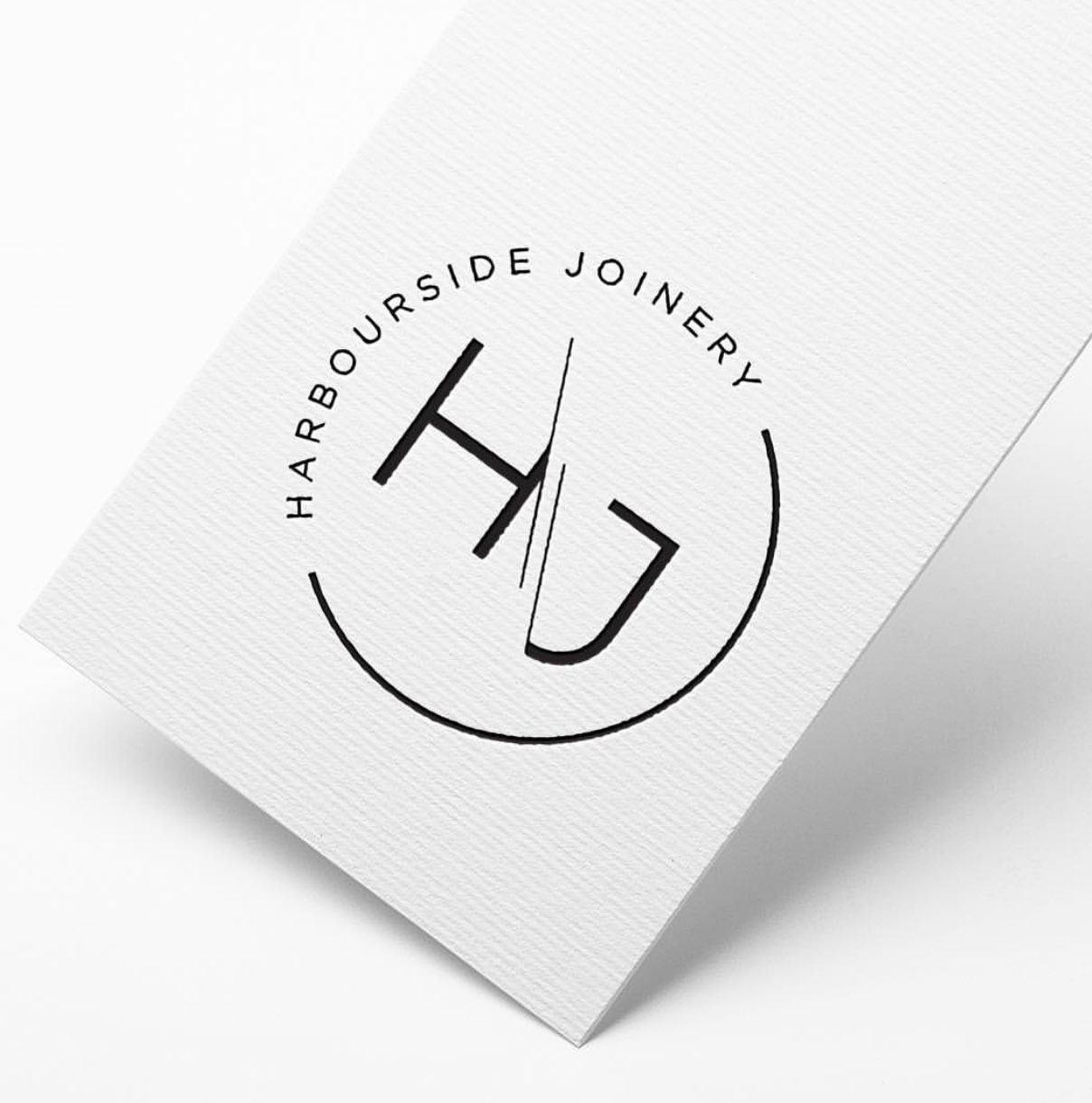 Harbourside Joinery Logo and Branding
