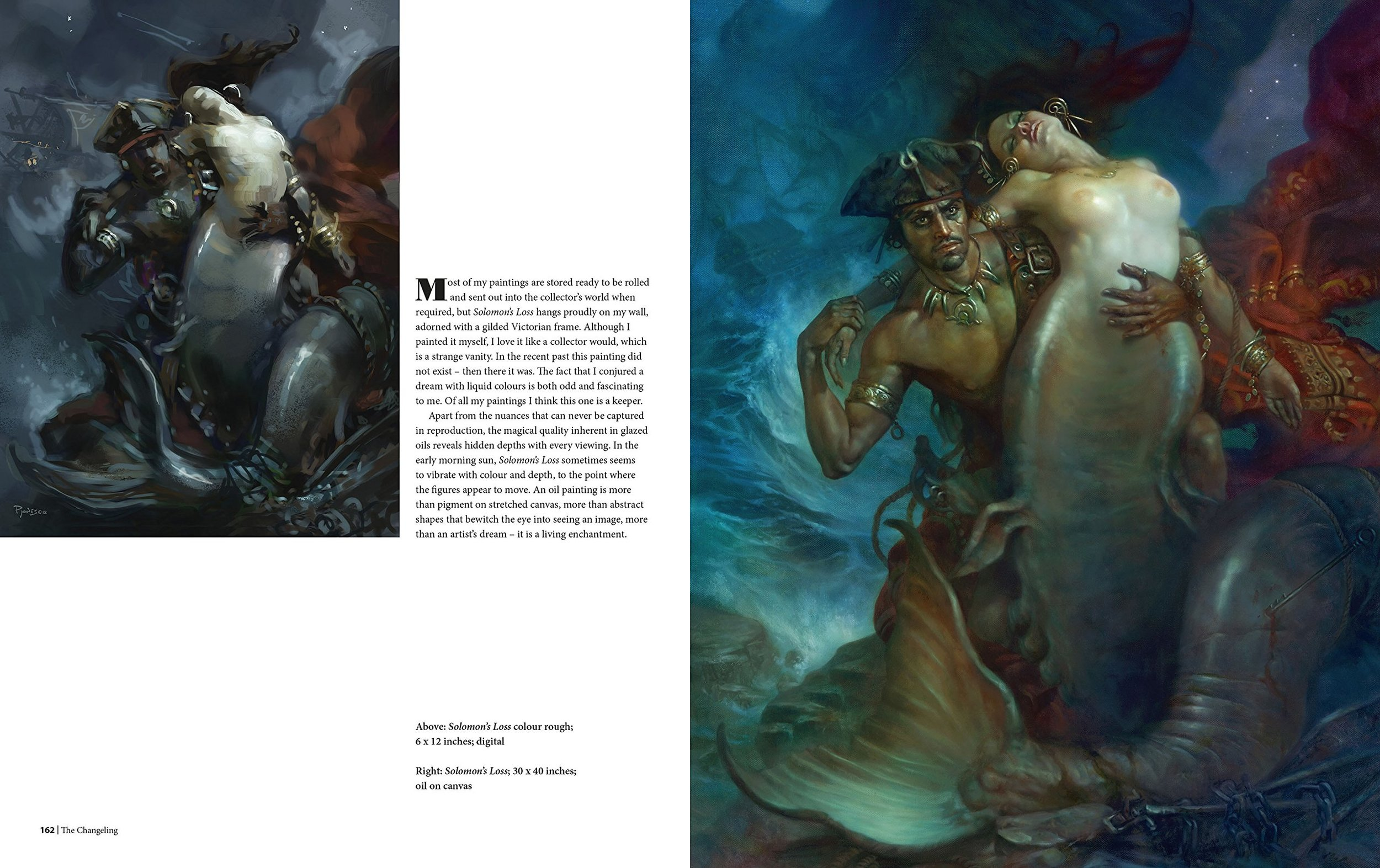 The Sci-Fi & Fantasy Art Of Patrick J. Jones: Sample Page