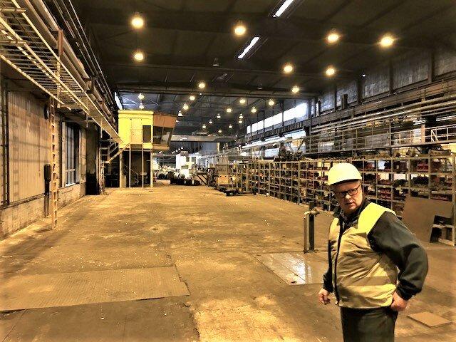 Taalintehtaalla vapautuu tämän operaation ansiosta yli 20.000 m2 toimitilaa.