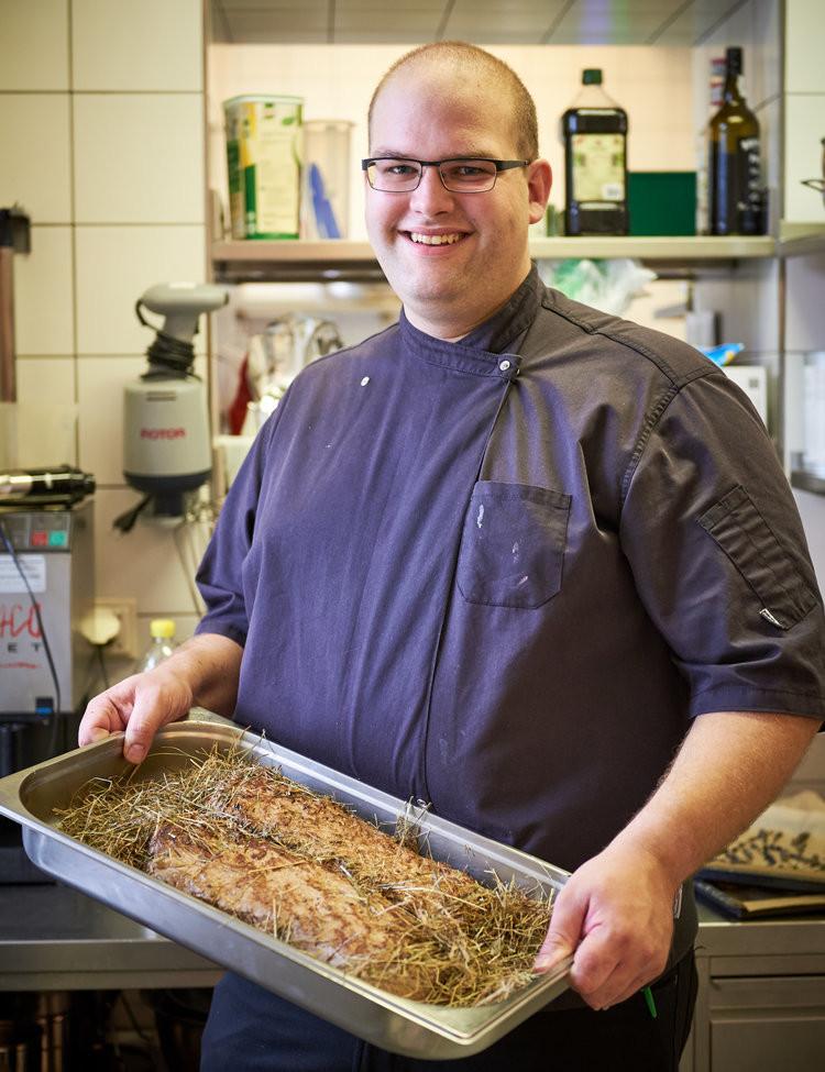 Chef de cuisine Marc-André Leuenberger