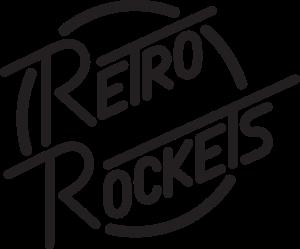 Copy of Copy of Copy of Black Retro Rocketes Logo.svg