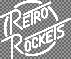Copy of Copy of Copy of White Retro Rockets Logo.svg
