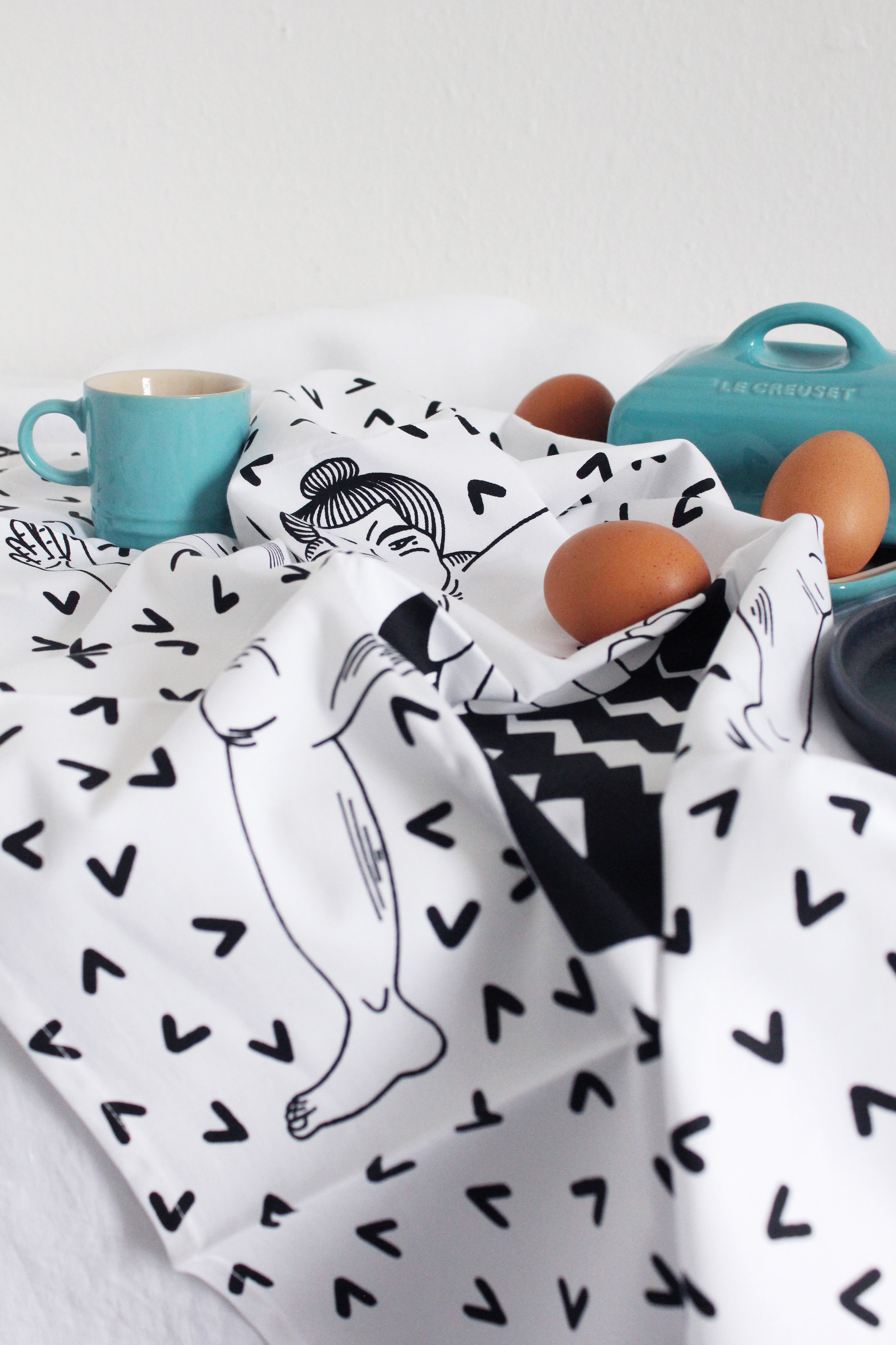 Sumo Tea Towel 4 Postcards Home Callie Pettigrew.jpg