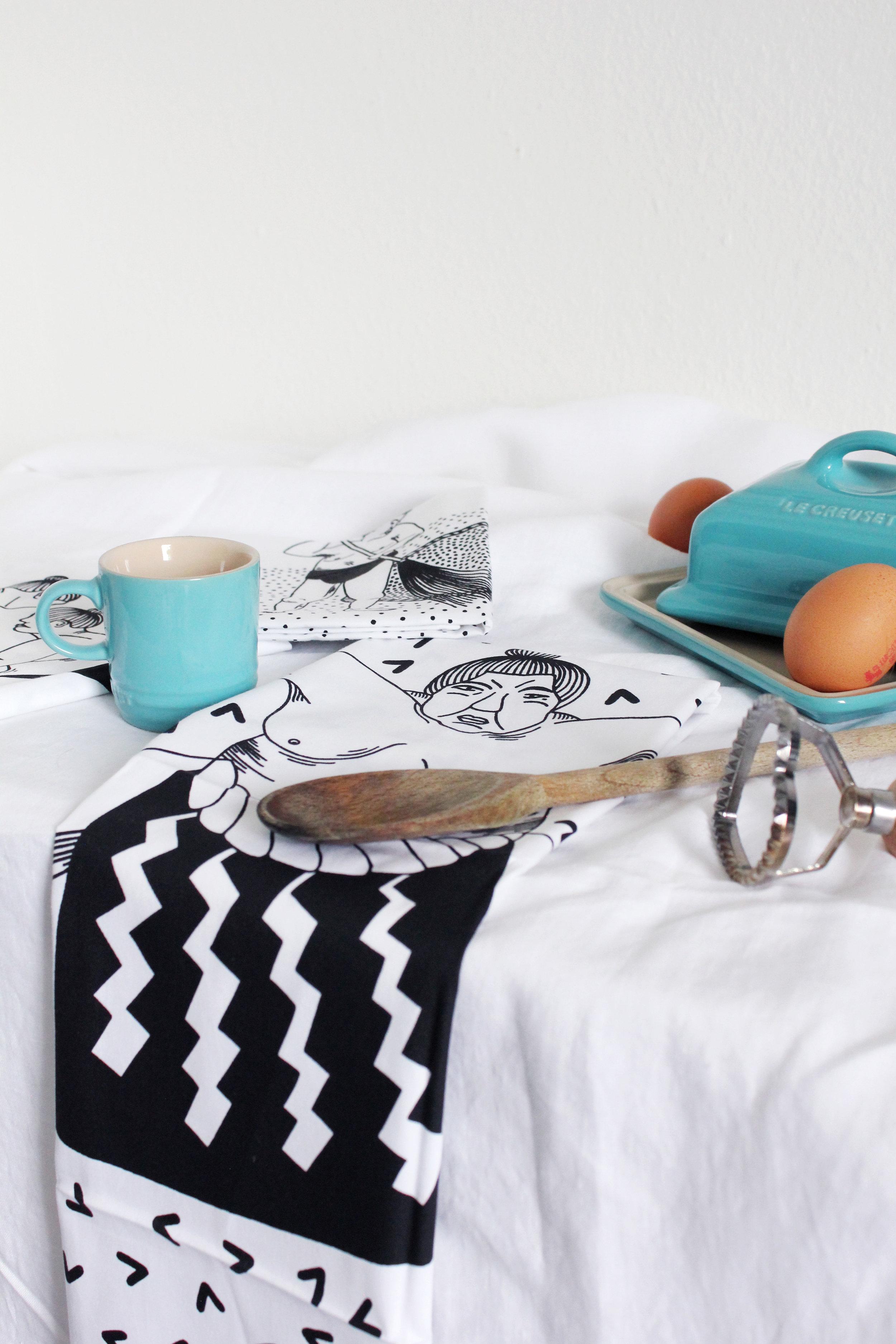 Sumo Tea Towel 11 Postcards Home Callie Pettigrew.jpg