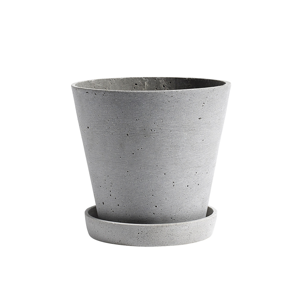 HAY FLOWERPOT & SAUCER - The perfect planter for all your larger plant needs…
