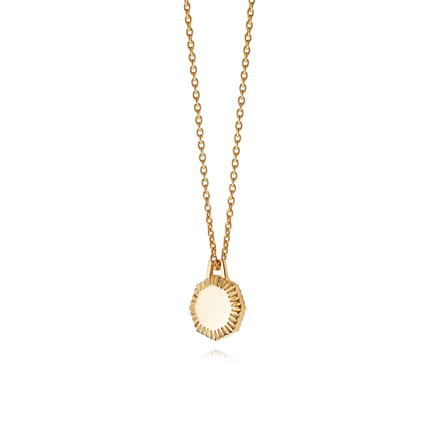 ESTÉE LALONDE MINI OCTAGONAL NECKLACE 18CT GOLD PLATE - Been lusting after this one for too long now…