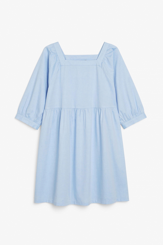 MONKI SQUARE NECK DRESS -